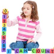 preschooler and math